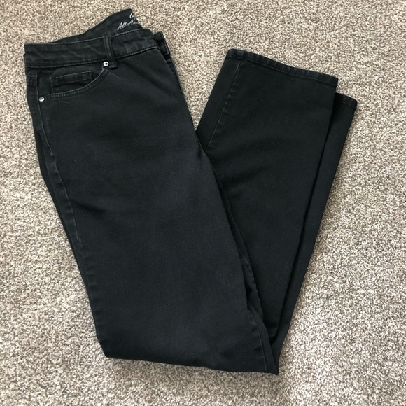 Gloria Vanderbilt Denim - Gloria Vanderbilt black jeans
